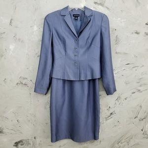ANN TAYLOR Periwinkle Blue Cocktail Dress & Jacket